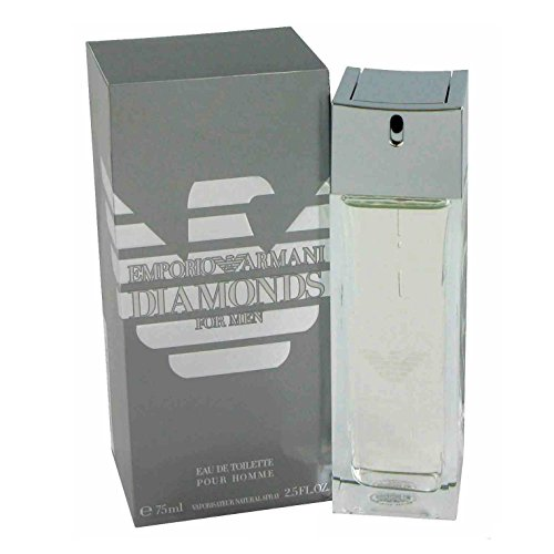 Giorgio Armani Diamonds for Men Eau de Toilette, Uomo, 75 ml