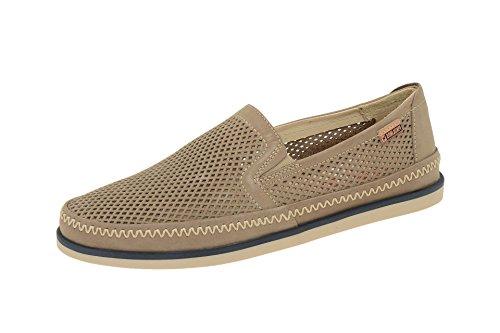 Sapatos Masculinos Pikolinos - Chinelo Confortável Baixos Sapatos Linares Cinza