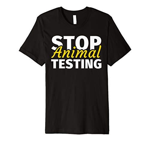 Gegen Tierversuche - Stoppt Tier-Versuche Tierfreund Shirt -