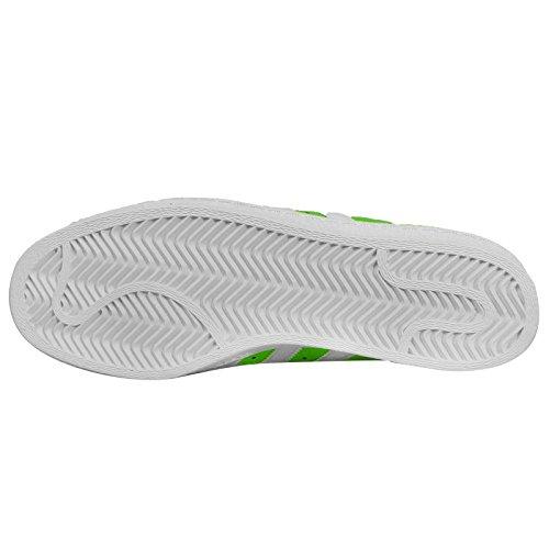 Adidas Superstar 80s nigo Homme Chaussures Vert - Grün (Grün-Weiß)