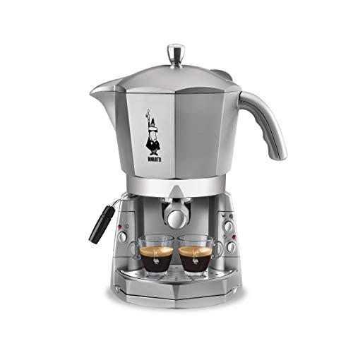 Bialetti Mokona Silver, Macchina del caffè, sistema aperto