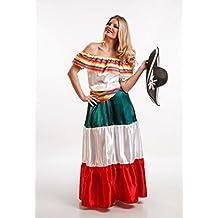 El Rey del Carnaval - Disfraz mexicana talla m