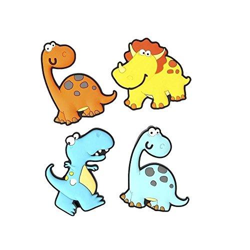 Dexam magneti dinosauro frigo, set di 4 (confezione da 2)
