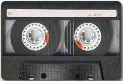 "Fedso Cassette Art patrón Mezcla Cinta Felpudo Alfombra de Puerta Interior/Exterior/Alfombra de Suelo Alfombra para el hogar/Oficina/Dormitorio 23,6""(L) x 15,7""(W)"