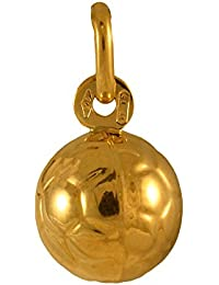 Sayers London 9ct Gold Hollow Football Charm