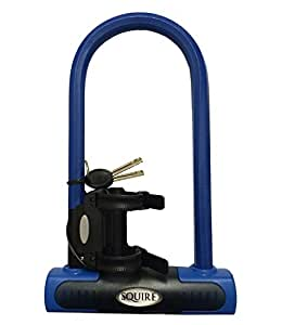 Squire Eiger Shackle Lock - Blue, 23 cm