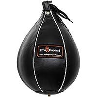 """Pro impacto cuero SpeedBag saco de boxeo, Xs-5""""X7"""""""