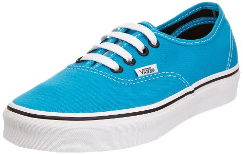 Vans Authentic Sneaker, Unisex Adulto, Blu (Blue jewel/black), 43