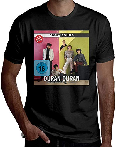 Duran Duran Sight and Sound T-shirt - Black - S to 3XL