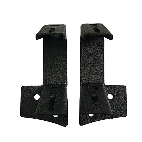 bestsxma Stahl Metall Arbeit Licht Bar A-Säulen-LED-Licht Halterungen (2) Stück hla07 (Klammern Hilfs Bar)
