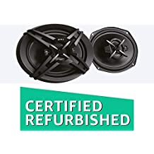 (CERTIFIED REFURBISHED) Sony XS-FB693E 3-Way Coaxial Car Speakers (Black)