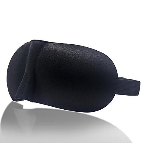 Masque Grinigh 3d du sommeil–Couverture douce eyeshape -2pc