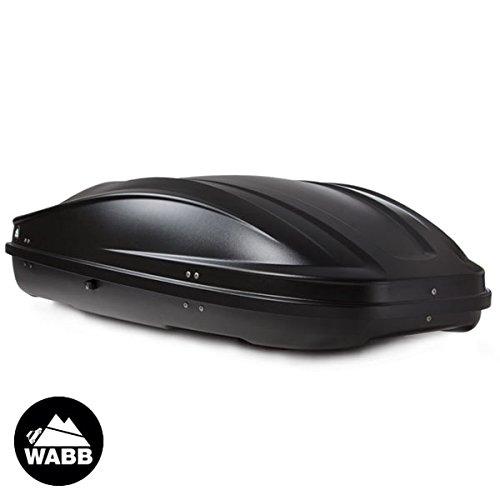 WABB Coffre de Toit M Noir 330 litres