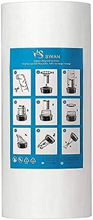 Recarga compatible con Tommee Tippee Tec y Angelcare para pañales minimizar los olores + rollo de cartón