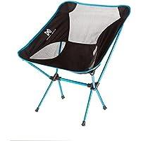Moon Lence Sillas plegables portátiles ultraligeros de Altas Prestaciones para sillas de camping playa, con