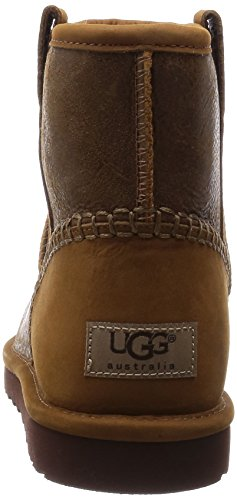 UGG Classic Mini Stich Herren Stiefel brown (Chestnut)