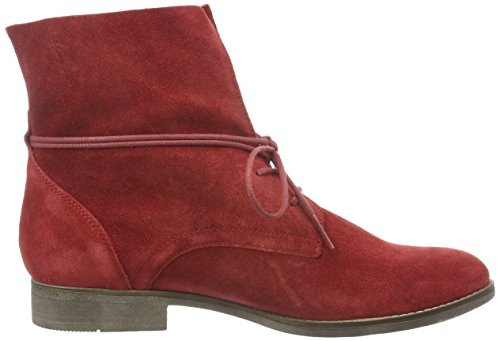 Gabor Fashion, Bottines Pour Femmes Rouges (opera Sohle Fumo)