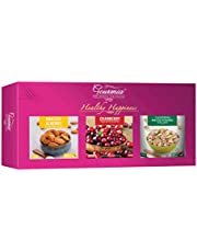Diwali Gift Healthy Happiness 600g (Roasted Almonds 200g Ro