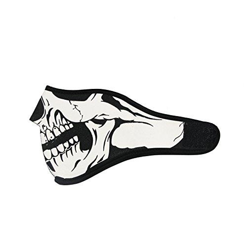ThreeH Máscara de calavera Invierno transpirable a prueba de...
