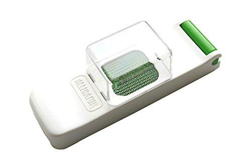 Alligator 1080 Mini Feinschneider, Küchenhelfer zum Schneiden feiner Würfel und Stifte