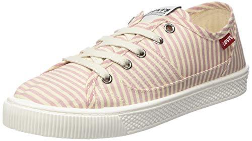 Levi's Levis Footwear and Accessories Damen Malibu S Sneaker, Light Pink 81, 38 EU