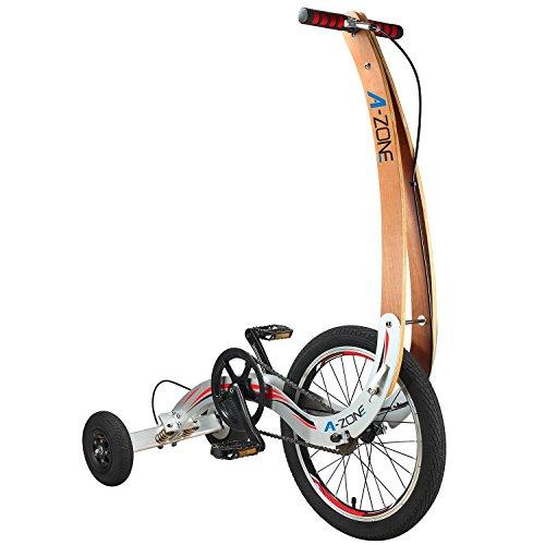 A-ZONE cyclette fitness bici bici piegante esterna Cyclette No sedile...
