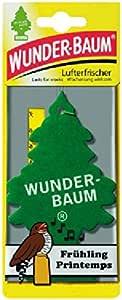 5 X Original Wunderbaum Lufterfrischer Frühling Auto