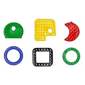 Schlüsselkennzeichnung / Sortimentauswahl für gängige Schlüssel (30 Stück) unterschiedlicher Art – farbig sortiert…