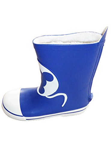 Cayole Fleece Lined Durable Warm Boys Wellies Rubber - Made in EU