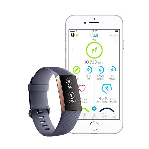 Zoom IMG-3 fitbit charge 3 tracker avanzato