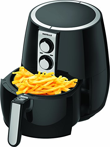 Havells Prolife Plus 4-Litre 1230-Watt Air Fryer (Black)