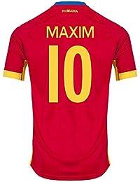 Rumänien Away Trikot 2016 2017 + Maxim 10 (Fan Style)