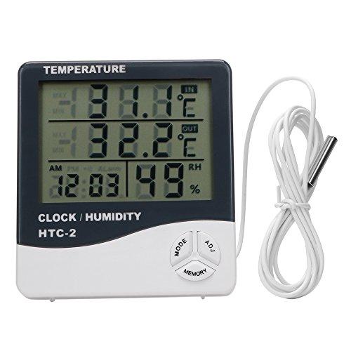 ITimo DIYWORK - Termómetro digital con pantalla LCD...
