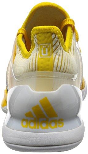 Adidas Mens Adizero Ubersonic 2 Scarpe Da Tennis Multicolore (eqtama / Negbas / Ftwbla)