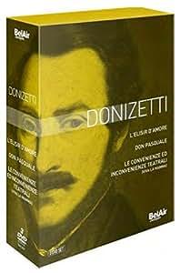 Donizetti: L'Elisir d'Amore, Don Pasquale, Viva la Mamma [DVD] [2014]