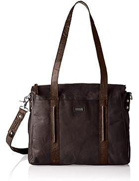 Spikes & Sparrow Damen Zip Bag Handgelenkstasche, 11x28x35 cm
