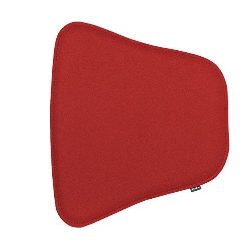 Sitzkissen für Masters Stuhl 2-lagig kirschrot