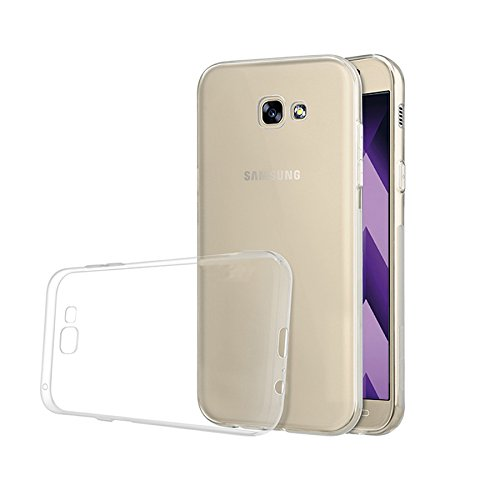 Minto Ultradünn TPU Hülle iPhone 8 Plus / iPhone 7 Plus Silikon Schutzhülle Handyhülle Case Crystal Cover Durchsichtig transparent 0.6mm Galaxy A3 (2017)