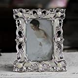 4x6 inch Classical Desk & Counter Metal Plated Wedding Photo Picture Framing for Home & Office Decors