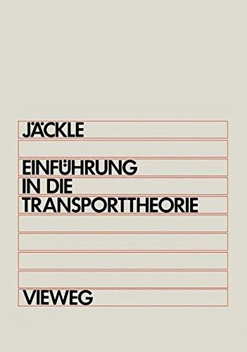Einführung in die Transporttheorie
