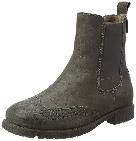 Bisgaard Unisex-Kinder Stiefelette Chelsea Boots, Grau (402 Grey), 35 EU