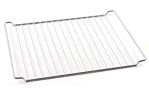 Backofen Backofen-gitter (DREHFLEX® - Rost / Grillrost / Bratrost / Gitter / Ofengitter passend für diverse Herde von Bauknecht / Whirlpool / Ignis - passend für die Teile-Nr. 481245819334 - Maße 445x340mm)