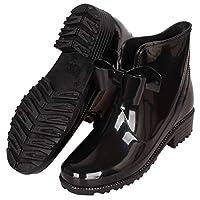 CCZZ Women Wellington Boots Anti Slip Rubber Rain Shoes Ankle Wellies Ladies Rain Snow Boots Chelsea Shoes