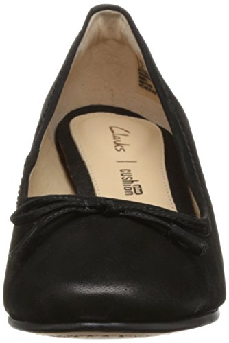 Clarks Shoes 26131129 Black Grace Maya Black