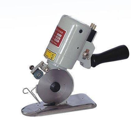 cgoldenwall dyj-2Elektrische Octagon Textil Schneiden Maschine tragbare elektrische Stoff Schere Zirkular Messer Scheren Cutter Sägeblatt Durchmesser 90mm 110V/220V