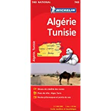 Carte NATIONAL Algrie, Tunisie