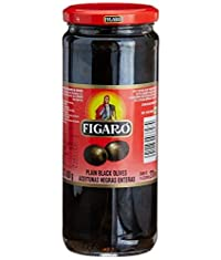 Watheen Figaro Pitted Black Olives 420gm