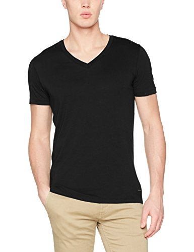 BOSS Casual Herren T-Shirt Tway, 50382414 Schwarz (Black 001)