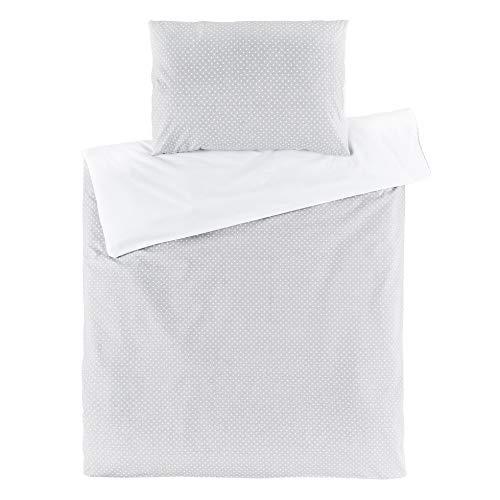 Fillikid - Funda Nórdica 80x80 cm y Funda Almohada 35x40 cm - Ropa de cama para Minicunas y Colecho...