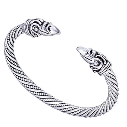 Pulsera vikinga para hombre, joyas paganas color oro, pulseras y brazaletes para hombres y mujeres, joyería y accesorios